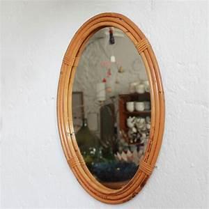 Petit Miroir Rotin : miroir rotin jonc decoration vintage e241 b atelier du petit parc ~ Melissatoandfro.com Idées de Décoration