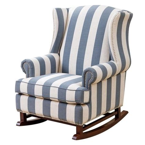 Bowery Hill Fabric Rocking Chair In Blue And Ivory  Bh592453. 1950s Living Room Decor. Cheap Living Room Makeover Ideas. Seagrass Living Room Furniture. Grey Black And Purple Living Room. Light For Living Room. Tree Design Wallpaper Living Room. Living Room Menu. Modern Ceiling Designs For Living Room