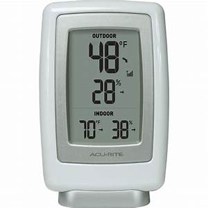 Acurite Wireless Thermometer Instructions 00782 British