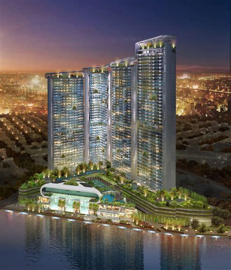 The Acqua Livingstone condominium tower in Manila