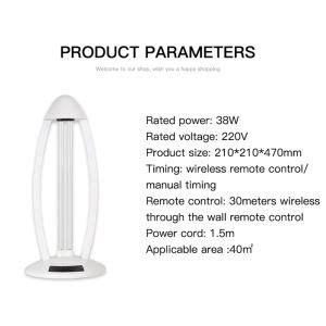 Room UV Light Sanitizer With Ozone Home Disinfection UVC