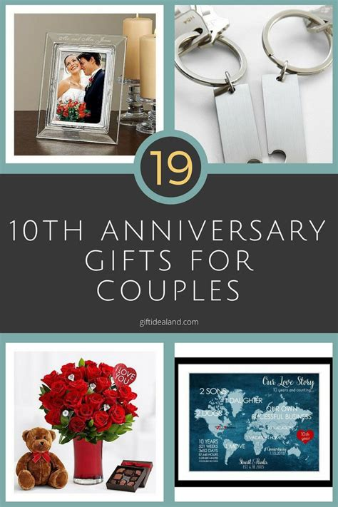26 Great 10th Wedding Anniversary Gifts For Couples 10th