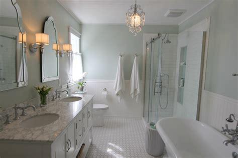 white  green bathroom traditional bathroom