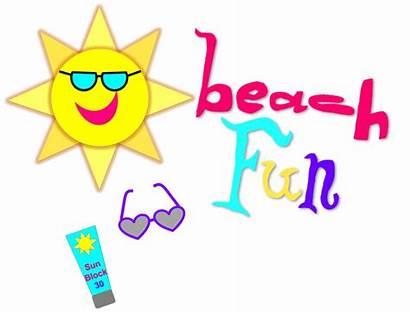 Fun Summer Sun Clipart Clip Learning Reading