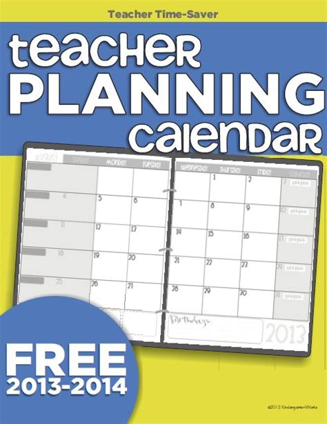 Free Templates For Teachers by Free Printable Calendar Template For Teachers Www