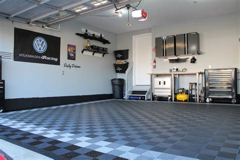 race deck garage floor free flow self draining garage flooring racedeck