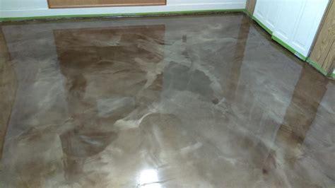 metallic epoxy floor metallic epoxy floors lima ohio elite concrete creations