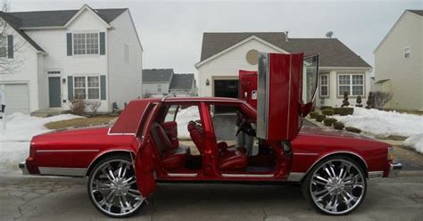 Dope Box Chevy Caprice Butterfly Doors