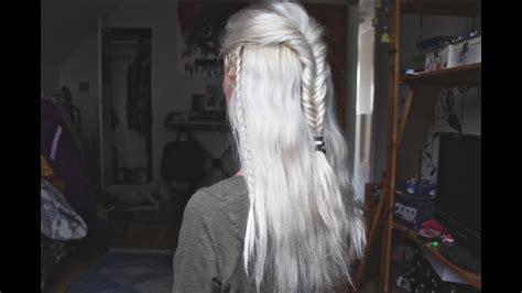 legolas hair tutorial youtube