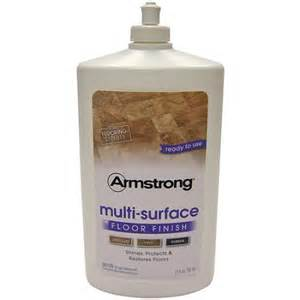 armstrong multi surface floor finish 27 fl oz walmart com