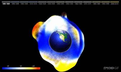 Global Warming Animated Cool Scary Graphic Visualization