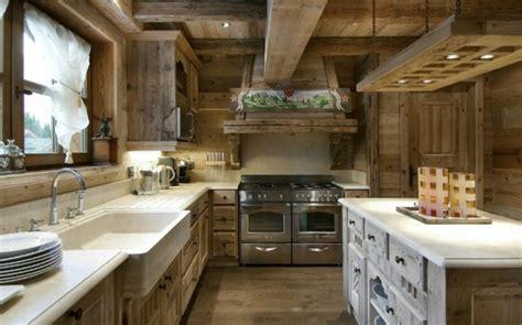 cuisine chalet moderne idées cuisine focus sur la cuisine chalet moderne