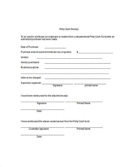 cash receipt template     purposes