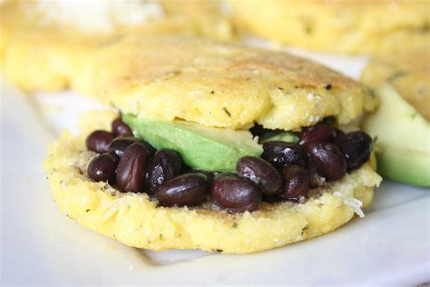 best international cuisine arepas with guasacaca