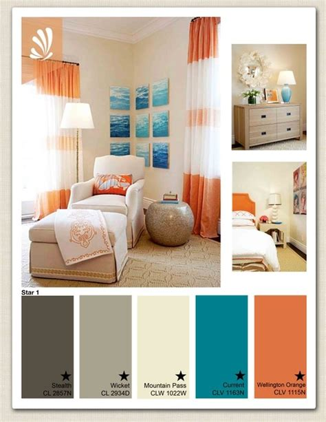 orange color bedroom orange you glad color living rooms room 12745