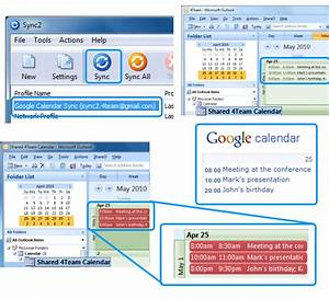 Sync iphoneipad and ipod with outlook contacts and calendar for Google sync update improves gmail google calender