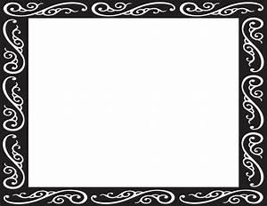Clip Art Fancy Borders - Cliparts.co