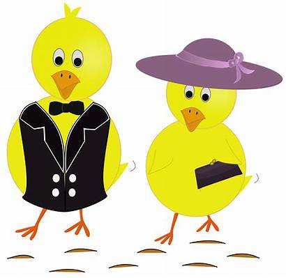 Easter Cartoon Sunday Clipart Clipground Chicks Cliparts