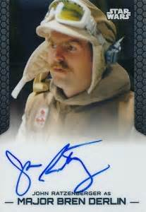 2014 Topps Star Wars Chrome Perspectives Autographs Guide