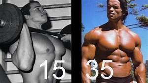 The Transformation Of Arnold Schwarzenegger 15-35 - YouTube