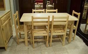 Table de cuisine en bois rouge algerie meuble atf for Deco cuisine avec table a manger 80 cm de large
