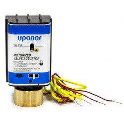a3020522 uponor wirsbo a3020522 motorized valve actuator mva four wire