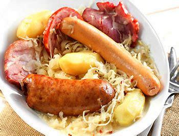 comment cuisiner la choucroute crue choucroute garnie recette alsacienne les légumes cuisinés