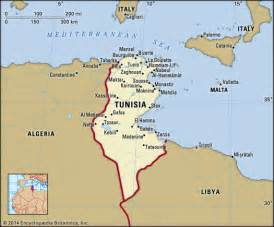 Carthage Tunisia Map