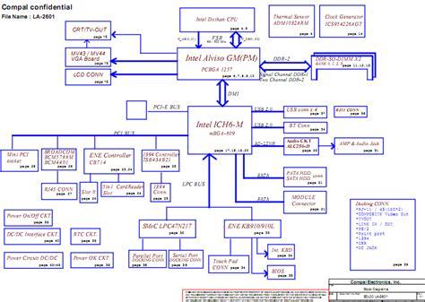 Acer Travelmate Laptop Schematic Diagram