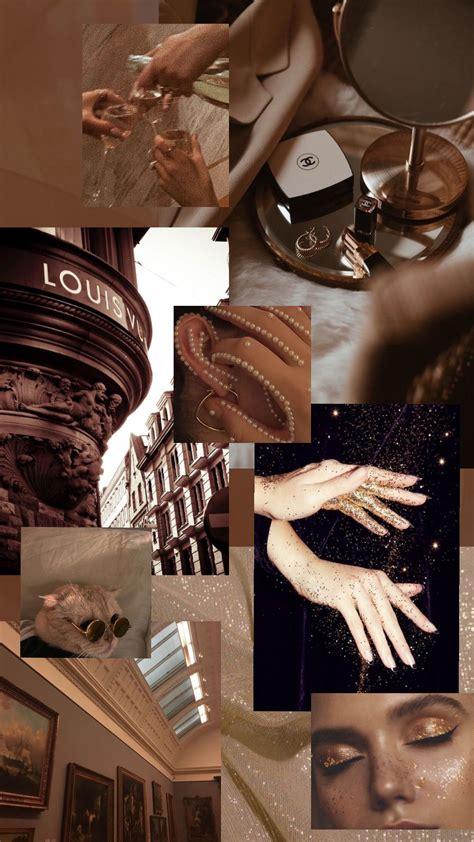 brown aesthetic mood board in 2020 aesthetic desktop