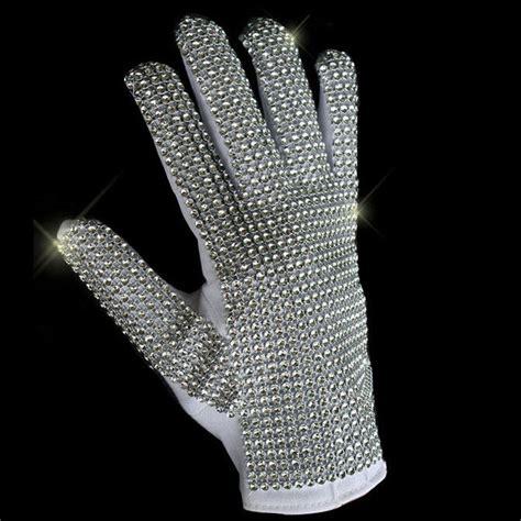 mj michael jackson classic silver handmade billie jean shining glove imitate ebay
