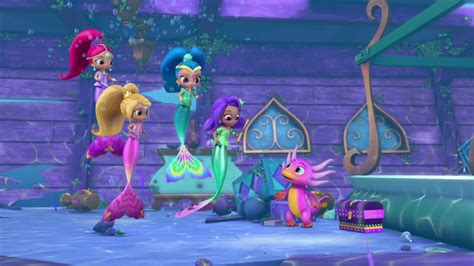 Shimmer And Shine Whatever Floats Your Boat Waterbent by Trick Or Treasure Shimmer And Shine Wiki Fandom
