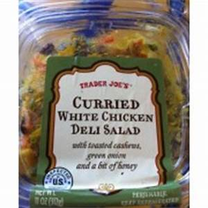 Trader Joe's Curried White Chicken Deli Salad: Calories ...