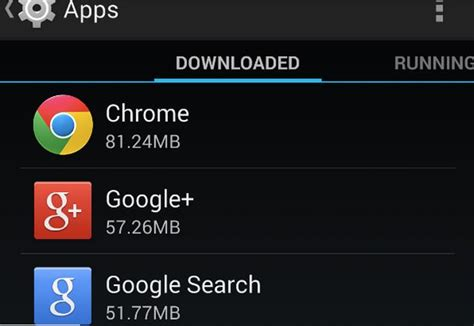 android insufficient storage android phone says insufficient storage available error