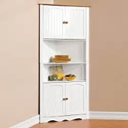 amazon com brylanehome country kitchen corner cabinet free standing cabinets