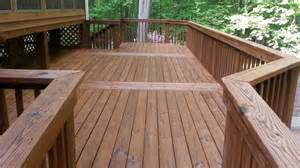 don t clean your wood deck with bleach angies list