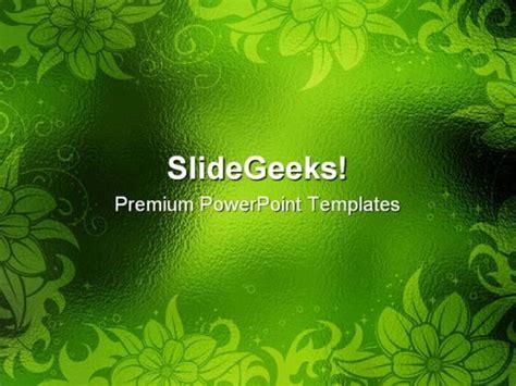 Green PowerPoint Design Templates