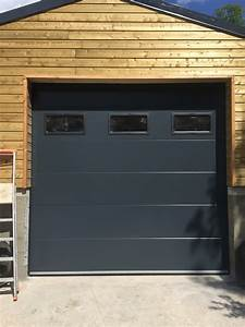 portes sectionnelle industrielle sure mesure portech With porte de garage avec hublot