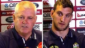 Warren Gatland & Sam Warburton Full Pre-Match Press ...