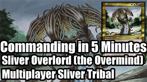 commander in 5 minutes sliver overlord youtube