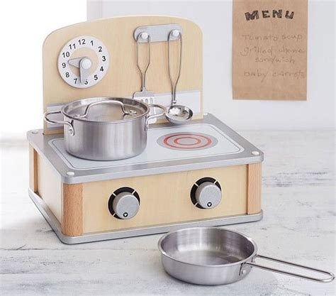 Wooden Tabletop Kitchen by Wooden Tabletop Stove Grill Time Play