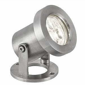 Spot à Led : 6223ss outdoor led ip65 3 x 1w stainless steel spotlight ~ Melissatoandfro.com Idées de Décoration