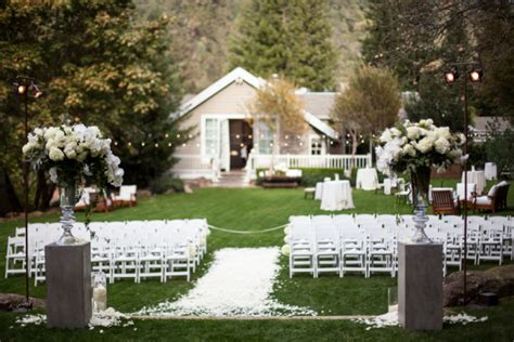 Backyard Garden Wedding Ideas by Classic Wine Country Wedding From Megan Clouse