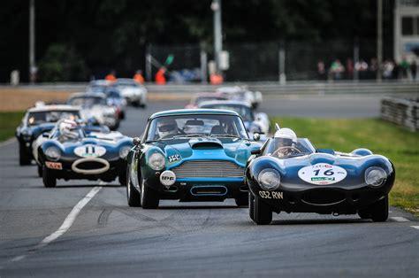 Classic Race Cars by 2016 Le Mans Classic Premier Financial Services