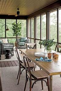 30, Perfect, Screened, Porch, Design, And, Decorating, Ideas, For