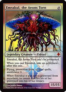 Emrakul, the Aeons Torn Preview Foil | Blackborder.com