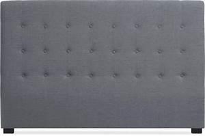 Tissu Pour Tete De Lit : t te de lit tissu gris 180 cm luxury design sur sofactory ~ Preciouscoupons.com Idées de Décoration
