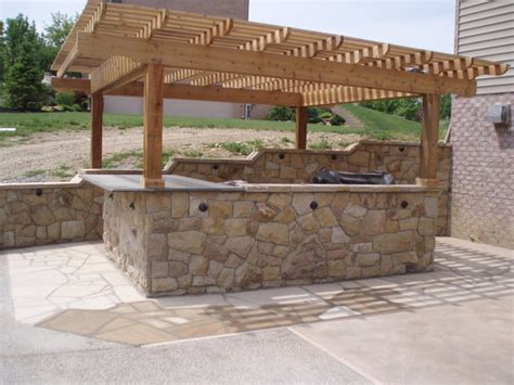 kitchen designs with islands and bars outdoor bar grills patios brittner masonry
