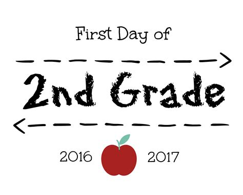 First Day Of School Signs  Free Printables