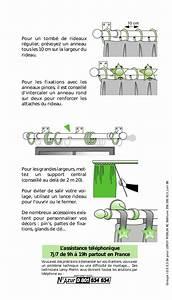 Poser Des Rideaux : la pose des barres rideaux ~ Nature-et-papiers.com Idées de Décoration